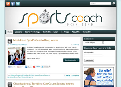 Sports-Coach-For-Life-Website-Design
