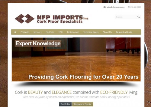 NFP Imports Website
